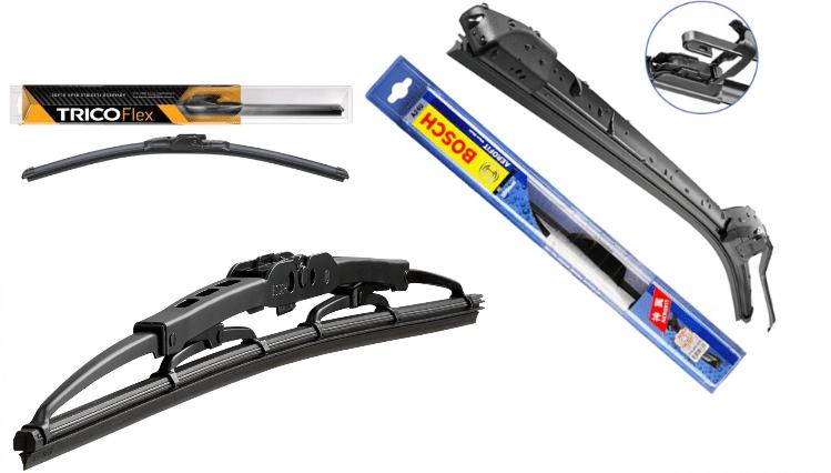Bosch and Trico Wiper Blades